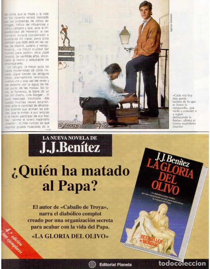 Coleccionismo de Revista Blanco y Negro: 1992. GABINETE CALIGARI. BORJA CASANI. GARCÍA-ALIX. CEESEPE. ANA OBREGÓN. BEATRICE DAILE. VER - Foto 5 - 143882946