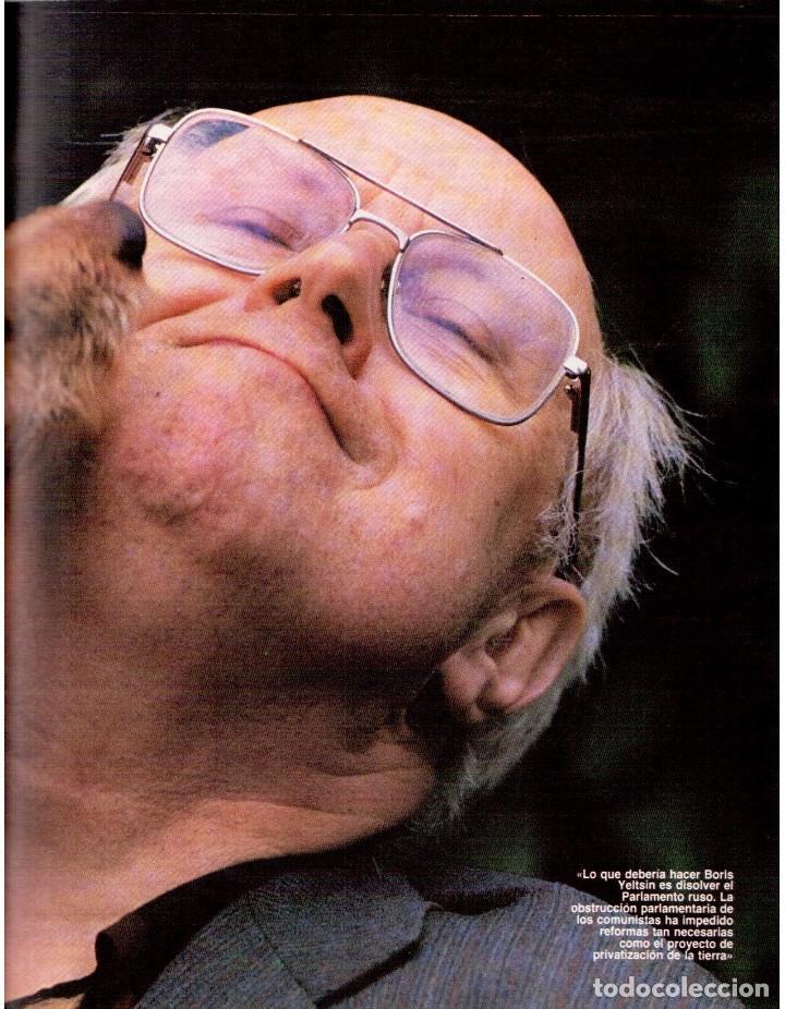 Coleccionismo de Revista Blanco y Negro: 1992. GABINETE CALIGARI. BORJA CASANI. GARCÍA-ALIX. CEESEPE. ANA OBREGÓN. BEATRICE DAILE. VER - Foto 10 - 143882946
