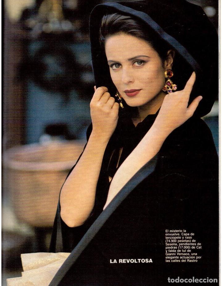 Coleccionismo de Revista Blanco y Negro: 1992. GABINETE CALIGARI. BORJA CASANI. GARCÍA-ALIX. CEESEPE. ANA OBREGÓN. BEATRICE DAILE. VER - Foto 13 - 143882946