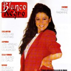 Coleccionismo de Revista Blanco y Negro: 1992. ISABEL PANTOJA. MECANO. CELIA FORNER. RAFFAELLA CARRÁ. PALOMA SAN BASILIO. ANNIE LENOX. VER . Lote 143885170
