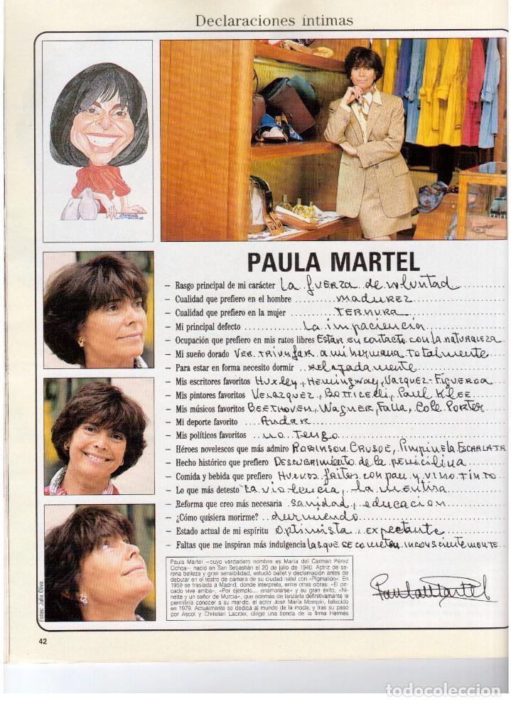 Coleccionismo de Revista Blanco y Negro: 1992. ISABEL PANTOJA. MECANO. CELIA FORNER. RAFFAELLA CARRÁ. PALOMA SAN BASILIO. ANNIE LENOX. VER - Foto 6 - 143885170