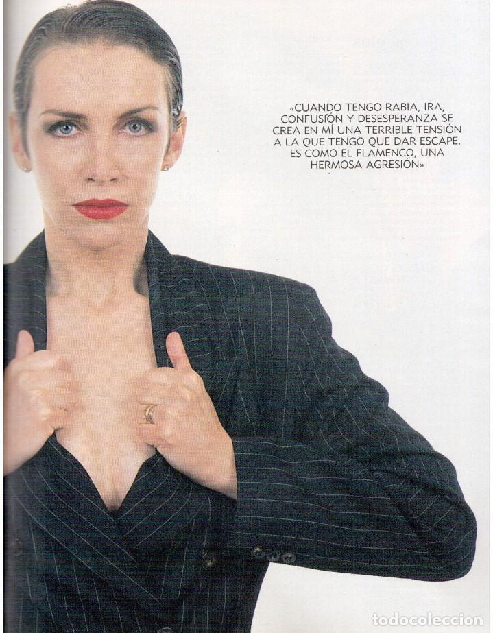 Coleccionismo de Revista Blanco y Negro: 1992. ISABEL PANTOJA. MECANO. CELIA FORNER. RAFFAELLA CARRÁ. PALOMA SAN BASILIO. ANNIE LENOX. VER - Foto 8 - 143885170