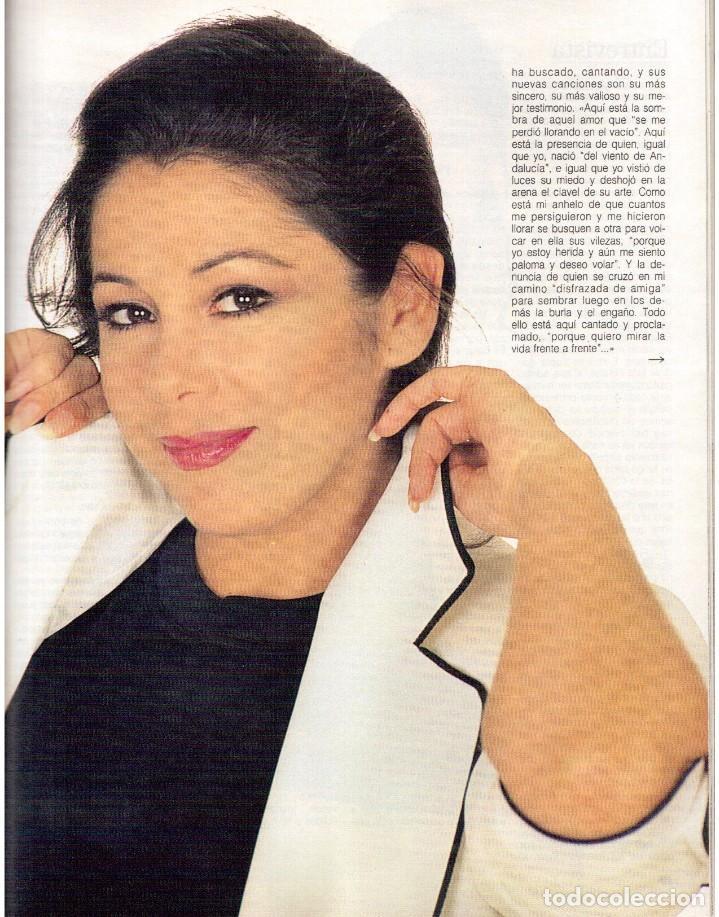 Coleccionismo de Revista Blanco y Negro: 1992. ISABEL PANTOJA. MECANO. CELIA FORNER. RAFFAELLA CARRÁ. PALOMA SAN BASILIO. ANNIE LENOX. VER - Foto 9 - 143885170