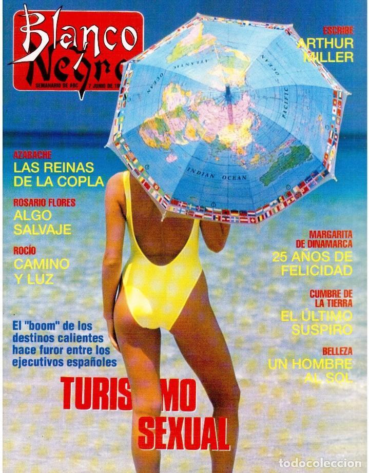 1992. ISABEL PANTOJA. INÉS SASTRE. ROCÍO JURADO. ROSARIO FLORES. MARIELA ALCALÁ. VER SUMARIO. (Coleccionismo - Revistas y Periódicos Modernos (a partir de 1.940) - Blanco y Negro)