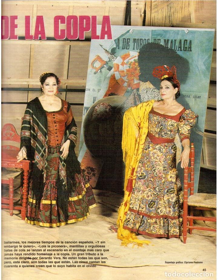 Coleccionismo de Revista Blanco y Negro: 1992. ISABEL PANTOJA. INÉS SASTRE. ROCÍO JURADO. ROSARIO FLORES. MARIELA ALCALÁ. VER SUMARIO. - Foto 6 - 143897094