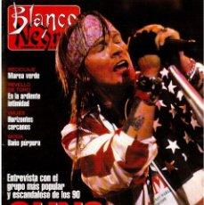 Coleccionismo de Revista Blanco y Negro: 1992. GUNS N'ROSES. MARTA SÁNCHEZ. JUDIT MASCÓ. BELÉN RUEDA. LYDIA BOSCH. VER SUMARIO.. Lote 143970430