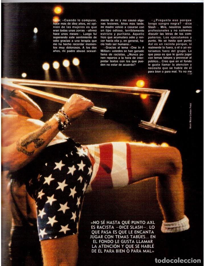 Coleccionismo de Revista Blanco y Negro: 1992. GUNS NROSES. MARTA SÁNCHEZ. JUDIT MASCÓ. BELÉN RUEDA. LYDIA BOSCH. VER SUMARIO. - Foto 8 - 143970430