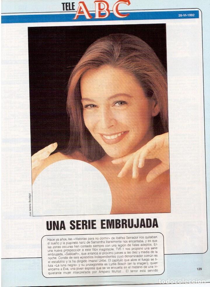 Coleccionismo de Revista Blanco y Negro: 1992. GUNS NROSES. MARTA SÁNCHEZ. JUDIT MASCÓ. BELÉN RUEDA. LYDIA BOSCH. VER SUMARIO. - Foto 10 - 143970430