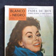 Coleccionismo de Revista Blanco y Negro: REVISTA BLANCO Y NEGRO. Nº 2502, 1960. ANNA HEYWOOD, TAUROMAQUIA DE PICASSO, PLASENCIA, INDIA. Lote 144129126