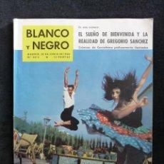Coleccionismo de Revista Blanco y Negro: REVISTA BLANCO Y NEGRO. Nº 2512, 1960. PEDRO DE OSMA, EICHMENN, TOREO-BIENVENIDA Y GREGORIO SANCHEZ. Lote 144129774