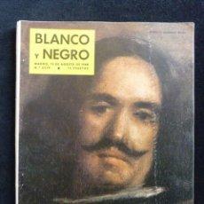 Coleccionismo de Revista Blanco y Negro: REVISTA BLANCO Y NEGRO. Nº 2519, 1960. NÚMERO ESPECIAL PINTOR VELÁZQUEZ. Lote 144129914