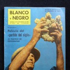 Coleccionismo de Revista Blanco y Negro: REVISTA BLANCO Y NEGRO. Nº 2523, 1960. VENDIMIA EN JEREZ, REAL MADRID CAMPEÓN, SOR ÁNGELA GUERRERO. Lote 144130282