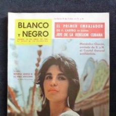 Coleccionismo de Revista Blanco y Negro: REVISTA BLANCO Y NEGRO. Nº 2555, 1961. FERIA DE SEVILLA, ALFONSO DE BORBON PUDO HABER SIDO REY DE ES. Lote 144131882