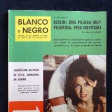 Coleccionismo de Revista Blanco y Negro: REVISTA BLANCO Y NEGRO. Nº 2573, 1961. MARÍA ANDERSEN, CAMPEONATO PESCA SUBMARINA EN ALMERÍA. Lote 144132682