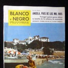 Coleccionismo de Revista Blanco y Negro: REVISTA BLANCO Y NEGRO. Nº 2628, 1962. COSTA BRAVA, SANTANDER, LA OROTAVA. EN CASA DE SALVADOR DALI. Lote 144135914