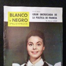 Coleccionismo de Revista Blanco y Negro: REVISTA BLANCO Y NEGRO. Nº 2632, 1962. ROCIO DURCAL, LA CASA DE COLÓN. Lote 144136070