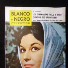 Coleccionismo de Revista Blanco y Negro: REVISTA BLANCO Y NEGRO. Nº 2636, 1962. EMMA PENELLA, COUSTEAU, JOSE CABALLERO DECORADOS BODA DE SANG. Lote 144136218
