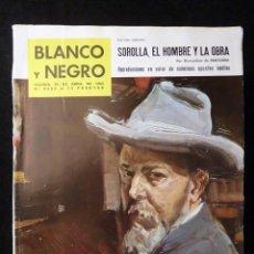 Coleccionismo de Revista Blanco y Negro: REVISTA BLANCO Y NEGRO. Nº 2658, 1963. SOROLLA, EL HOMBRE Y LA OBRA. Lote 144137250
