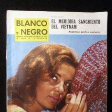 Coleccionismo de Revista Blanco y Negro: REVISTA BLANCO Y NEGRO. Nº 2680, 1963. ABBE LANE. NUEVO EXAMEN CONDUCTORES. Lote 144138258