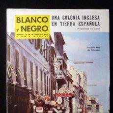 Coleccionismo de Revista Blanco y Negro: REVISTA BLANCO Y NEGRO. Nº 2685, 1963. GIBRALTAR, COCTEAU. Lote 144138358