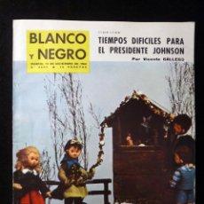 Coleccionismo de Revista Blanco y Negro: REVISTA BLANCO Y NEGRO. Nº 2693, 1963. LOLA MEMBRIVES. BELENES NAVIDAD, JEAN PIERRE LEAUD. Lote 144138738