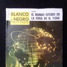 Collectionnisme de Magazine Blanco y Negro: REVISTA BLANCO Y NEGRO. Nº 2720, 1964. FERIA DE NUEVA YORK, MARIA CALLAS, SAN ANTONIO DE LA FLORIDA. Lote 144139398