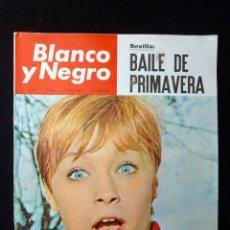 Coleccionismo de Revista Blanco y Negro: REVISTA BLANCO Y NEGRO. Nº 2765, 1965. MARISOL, SEVILLA BAILE PRIMAVERA, TEMPORADA TEATRO, ORSON WEL. Lote 144139574