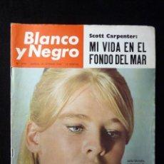 Coleccionismo de Revista Blanco y Negro: REVISTA BLANCO Y NEGRO. Nº 2790, 1965. SCOTT CARPENTER, JULIE CHRISTIE, LA NASA PIENSA EN VIAJAR A M. Lote 144140238