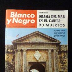 Coleccionismo de Revista Blanco y Negro: REVISTA BLANCO Y NEGRO. Nº 2795, 1965. DRAMA DEL MAR EN EL CARIBE, PINTORES EN EL RASTRO, SAN JUAN D. Lote 144140474