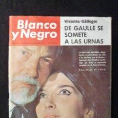 Coleccionismo de Revista Blanco y Negro: REVISTA BLANCO Y NEGRO. Nº 2796, 1965. NURIA ESPERT-ANDRES MEJUTO. ARTE POPULAR QUITEÑO. Lote 144140570