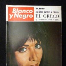 Coleccionismo de Revista Blanco y Negro: REVISTA BLANCO Y NEGRO. Nº 2892, 1967. GRACIA BUCCELLA, EL GRECO, FUTBOL HOMENAJE A ZAMORA, ARTE SUI. Lote 144142230