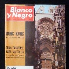 Coleccionismo de Revista Blanco y Negro: REVISTA BLANCO Y NEGRO. Nº 2901, 1967. TARRAGONA, TENIS SANTANA, MIGUEL ANGEL ASTURIAS. Lote 144142514