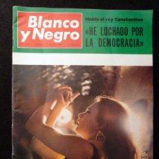 Coleccionismo de Revista Blanco y Negro: REVISTA BLANCO Y NEGRO. Nº 2906, 1968. LA POLACA. MURILLO. Lote 144142738