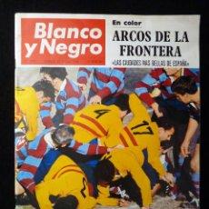 Coleccionismo de Revista Blanco y Negro: REVISTA BLANCO Y NEGRO. Nº 2908, 1968. ARCOS DE LA FRONTERA, TRIUNFO ESPAÑOL RUGBY, BRIGITTE BARDOT . Lote 144142842