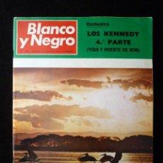 Coleccionismo de Revista Blanco y Negro: REVISTA BLANCO Y NEGRO. Nº 2937, 1968. RITA HAYWORTH, LUGO, JOSE MARIA RODRIGUEZ ACOSTA. Lote 144143298