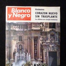 Coleccionismo de Revista Blanco y Negro: REVISTA BLANCO Y NEGRO. Nº 2944, 1968. MURCIA, DOCTOR SALAZAR, CALIFORNIA. Lote 144143446