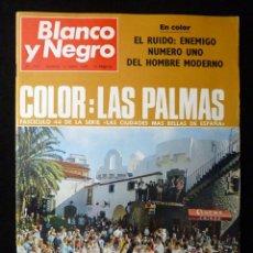 Coleccionismo de Revista Blanco y Negro: REVISTA BLANCO Y NEGRO. Nº 2971, 1969. LAS PALMAS, BALLET U.S.A. TOREO PACTO DE VILLALOBILLOS. Lote 146316849