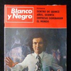 Coleccionismo de Revista Blanco y Negro: REVISTA BLANCO Y NEGRO. Nº 3029, 1970. CRISTOBAL TORAL, PONTEVEDRA, EL VIDEO CASSETTE. Lote 144144394