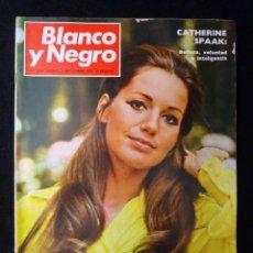 Coleccionismo de Revista Blanco y Negro: REVISTA BLANCO Y NEGRO. Nº 3044, 1970. CATHERINE SPAAK, WALTER BONATTI. Lote 144144574