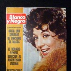 Coleccionismo de Revista Blanco y Negro: REVISTA BLANCO Y NEGRO. Nº 3182, 1973. CONCHITA VELASCO, HISPANO-SUIZA AUTOMOVILES. Lote 144145750