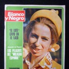 Coleccionismo de Revista Blanco y Negro: REVISTA BLANCO Y NEGRO. Nº 3188, 1973. EL LUTE CAYO EN EL LAZO, CARDENAL TARANCON. Lote 144146226