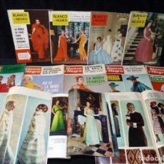 Coleccionismo de Revista Blanco y Negro: LOTE DE 12 REVISTAS MODA BLANCO Y NEGRO 1959-70. MODA PARÍS - FRANCIA - ITALIA - ESPAÑA. Lote 144146390