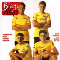 Collectionnisme de Magazine Blanco y Negro: 1992. BENITO FLORO. ROXANA GONZÁLEZ. WINONA RYDER. PAUL MCCARTNEY. ELTON JOHN. MARIBEL VERDÚ. VER. Lote 144222354