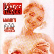 Coleccionismo de Revista Blanco y Negro: 1992. MARILYM MONROE. ALASKA. ROSARIO FLORES. LOS MANOLOS. REBECCA DE MORNAY. VER SUMARIO.. Lote 144233254