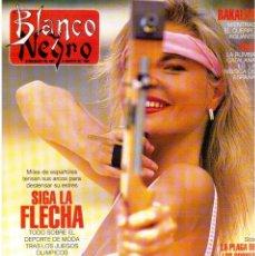 Coleccionismo de Revista Blanco y Negro: 1992. LOLA DE PÁRAMO. ANA ALVAREZ. LADY HELEN WINDSOR. BAKALAO. PERET. MARIBEL VERDÚ. VER SUMARIO. . Lote 144303270