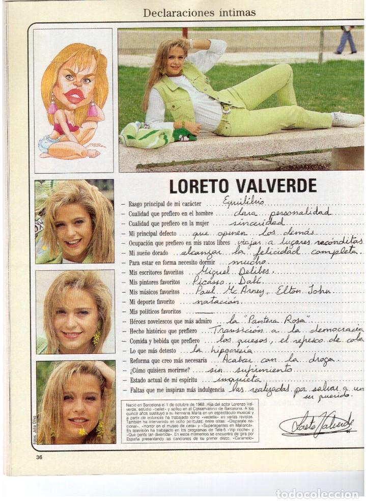 Coleccionismo de Revista Blanco y Negro: 1992. LOLA DE PÁRAMO. ANA ALVAREZ. LADY HELEN WINDSOR. BAKALAO. PERET. MARIBEL VERDÚ. VER SUMARIO. - Foto 6 - 144303270