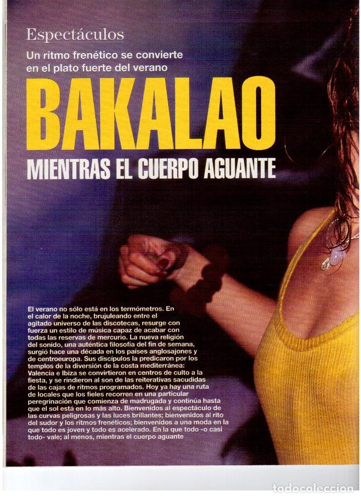 Coleccionismo de Revista Blanco y Negro: 1992. LOLA DE PÁRAMO. ANA ALVAREZ. LADY HELEN WINDSOR. BAKALAO. PERET. MARIBEL VERDÚ. VER SUMARIO. - Foto 7 - 144303270