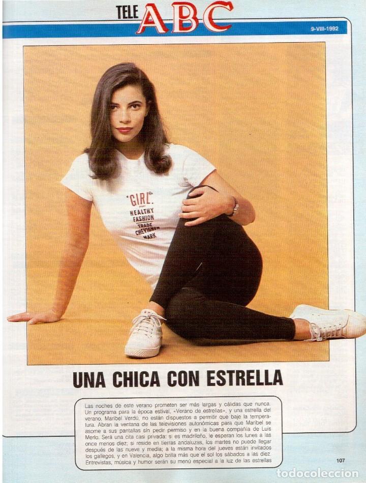 Coleccionismo de Revista Blanco y Negro: 1992. LOLA DE PÁRAMO. ANA ALVAREZ. LADY HELEN WINDSOR. BAKALAO. PERET. MARIBEL VERDÚ. VER SUMARIO. - Foto 11 - 144303270