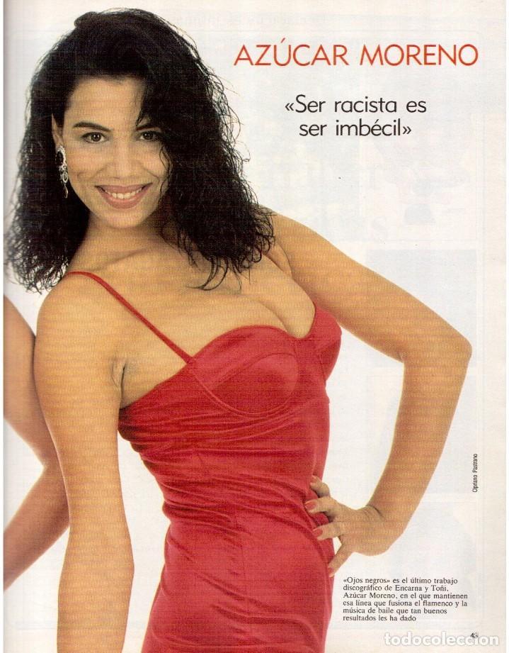 Coleccionismo de Revista Blanco y Negro: 1992. INÉS SASTRE. PALOMA LAGO. MAR FLORES. ELENA BARQUILLA. NIEVES ÁLVAREZ. AZÚCAR MORENO. VER - Foto 8 - 144320502