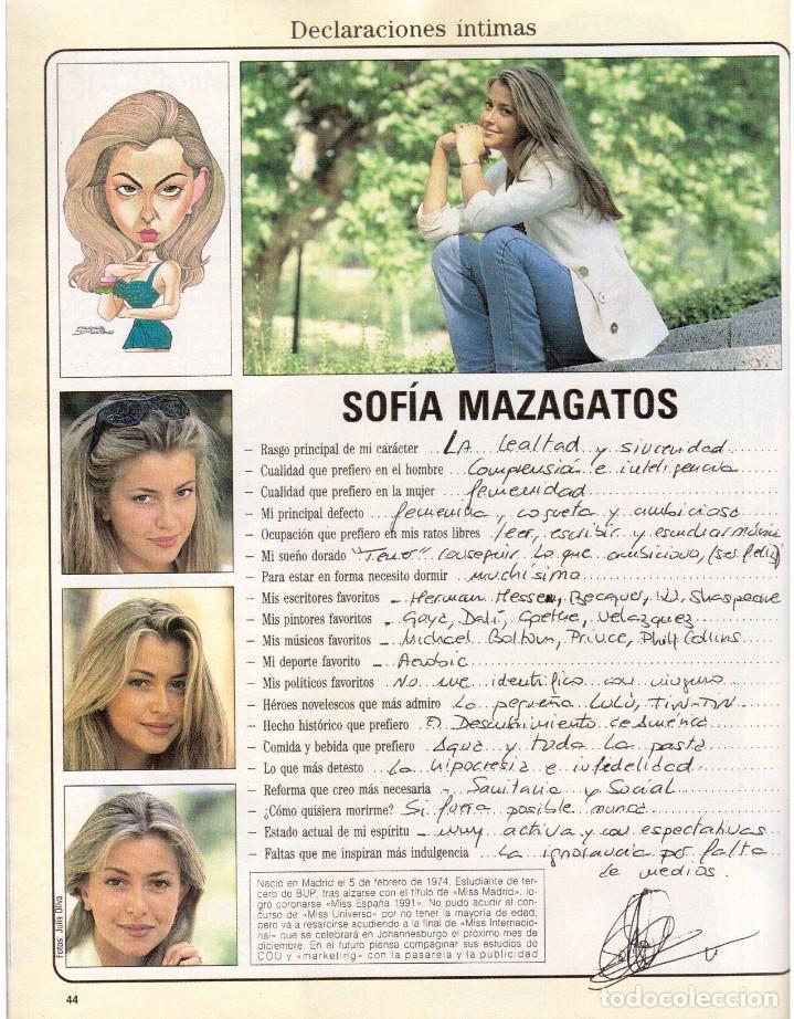 Coleccionismo de Revista Blanco y Negro: 1992. INÉS SASTRE. PALOMA LAGO. MAR FLORES. ELENA BARQUILLA. NIEVES ÁLVAREZ. AZÚCAR MORENO. VER - Foto 9 - 144320502